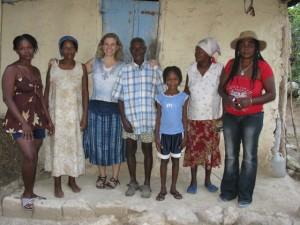 Bev Nana Selexi and family smiling